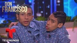 Download Los siameses José Armando y José Luis Ceballos hablan de su vida   Don Francisco Te Invita   Entrete Video