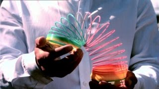 Download How Does A Slinky Fall? Video