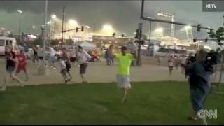 Download !!TORNADO SIRENS HEARD AT BASEBALL GAME!! Video