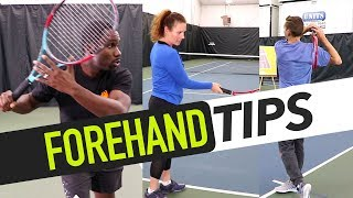 Download FOREHAND TIPS: Topspin, Body Position & Inside-Out Video