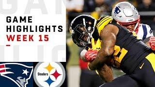 Download Patriots vs. Steelers Week 15 Highlights | NFL 2018 Video