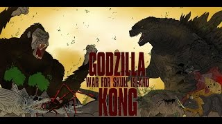 Download GODZILLA VS KONG WAR FOR SKULL ISLAND KAIJU MOMENTS #37 Video
