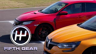 Download Honda Civic Type R VS Renault Sport Megane R.S. | Fifth Gear Video