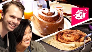 Download We Tried To Re-Create This Giant Cinnamon Roll Video
