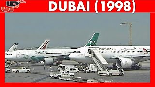 Download DXB DUBAI Int Airport 20 YEARS AGO! (1998) Video