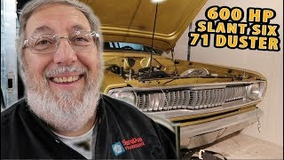Download 1971 Plymouth Duster! - SUPERCHARGED SLANT SIX! - Midwest Mopars in the Park. Video