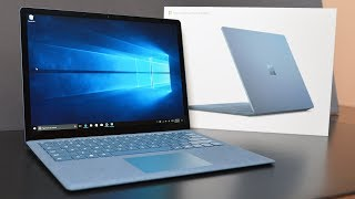 Download Microsoft Surface Laptop: Unboxing & Review Video