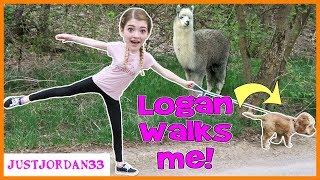 Download I Let My Dog Walk Me For A Day! / JustJordan33 Video