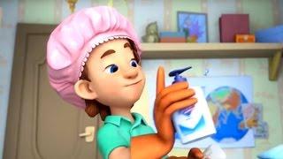 Download Фиксики новые серии - Тренажер, Сито, Микробы (Сборник мультиков для детей) Video
