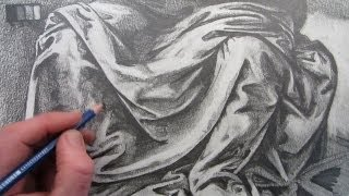 Download How To Draw Fabric Folds: Drawing based on Leonardo da Vinci Video