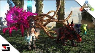 Modded ARK: Survival Evolved - SpineBreaker Tamed! (Thieves Island