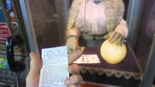 Download 1955 Mutoscope Zelda the Mysterious fortune teller explained in detail Video