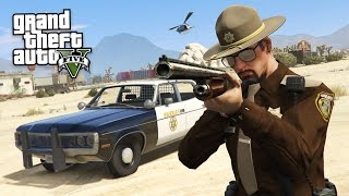 Download GTA 5 PLAY AS A COP MOD - SHERIFF POLICE PATROL!! (GTA 5 Mods Gameplay) Video