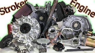 Download Stroker Engine Build: 30+ HP on a 65 MPH Mini Bike! (Complete Build) Video