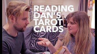 Download Reading Dan's Tarot Cards   Vlogmas Day 13 Video