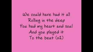 Download Adele - Rolling in the Deep - lyrics Video