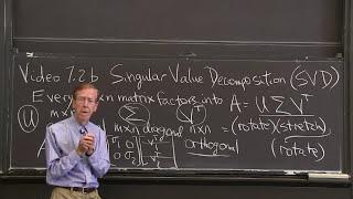 Download Singular Value Decomposition (the SVD) Video