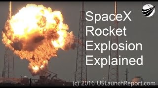 Download Explaining Why SpaceX Rocket Exploded on Pad Video