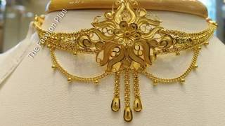 Download Light Weight Gold CHOKER Designs Collection Video