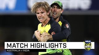 Download Australia draw first blood in T20 series | First Gillette T20 Video