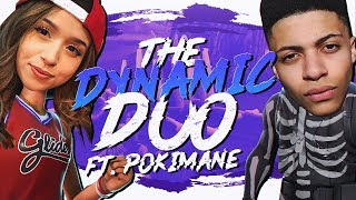 Download THE DYNAMIC DUO! WINNING WITH POKIMANE (Fortnite BR Full Match) Video