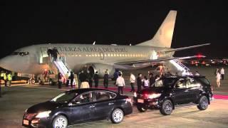 Download Arrival of President Ollanta Humala Tasso, Republic of Peru 11/18/2015 Video