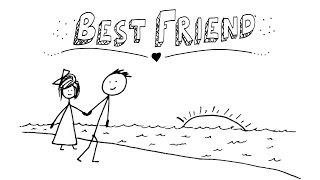 Download Jason Mraz - Best Friend - AMAZING Animated Lyrics Video! Video