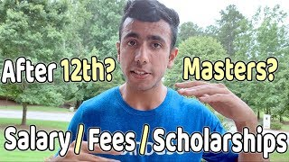 Download USA/Canada After 12th vs Masters? Salary, Fees, Scholarships? Video