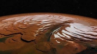 Download What has NASA's Mars Reconnaissance Orbiter seen around the polar regions of Mars? HiRise Images 4K Video