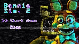 Download Bonnie Simulator 2 - Ser Bonnie Nunca fue tan divertido (FNAF FAN GAME) Video