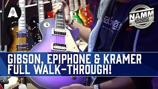 Download Full Walk-through Of The New Gibson, Epiphone & Kramer Booth! - NAMM 2020 Video