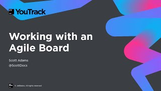 Download Working with an Agile Board in YouTrack Video
