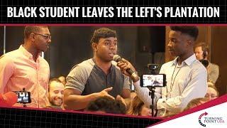 Download Black Student LEAVES The Left's Plantation! Video
