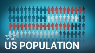 Download This animation puts the entire US population into perspective Video