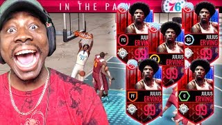 Download OMG FULL SQUAD OF 99 OVR DR. Js IN GAUNTLET! NBA Live Mobile Gameplay Ep. 150 Video