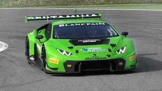 Download 2015 Lamborghini Huracán GT3 Pure Sound On Track Video
