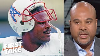 Download Warren Moon changed the game for black quarterbacks in the NFL – Jason Reid | First Take Video