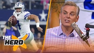 Download Colin on Landon Collins making comments about Dak, Gruden vs Shanahan | NFL | THE HERD Video