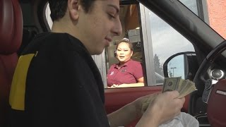 Download FINDING $10,000 IN MY FOOD!! (DRIVE THRU PRANK) Video