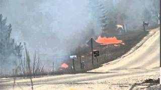 Download Dry weather causes fires to ignite throughout northern Michigan Video