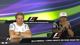 Download Hamilton And Rosberg On Their F1 Title Showdown | Abu Dhabi Grand Prix 2016 Video