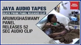 Download Probe Commission Releases Jayalalithaa's Handwritten Note And Audio Clip Video