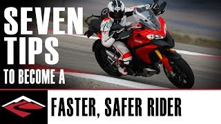 Download Seven Tips to Become a Better, Faster and Safer Motorcycle Rider Video