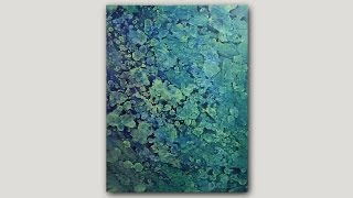 Download DIY Abstract Art Print | Acrylic Paint and Rubbing Alcohol Technique Video