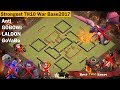 Download strongest th10 war base 2017 | Anti Valkyrie, Bowlers, Anti Queen Walk Video