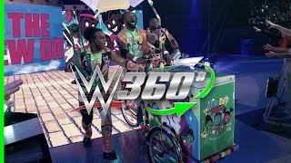 Download Make an entrance on the New Day Pops-Cycle in 360° with your WrestleMania 33 hosts, The New Day Video
