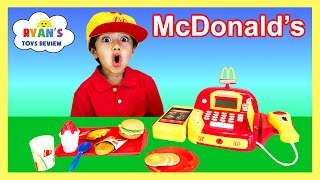 Download McDonald's Cash Register Toy Pretend Play Food Cookie Monster Happy Meal Trolls Toys For Kids Video