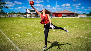Download MY GF CAN CATCH BETTER THAN ODELL BECKHAM JR.. (ROUTE TREE CHALLENGE) Video