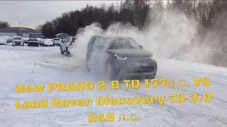 Download New Toyota PRADO vs Land Rover Discovery 5 Video
