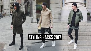 Download Mens Fashion Hacks & Tips for Winter 2017 Video